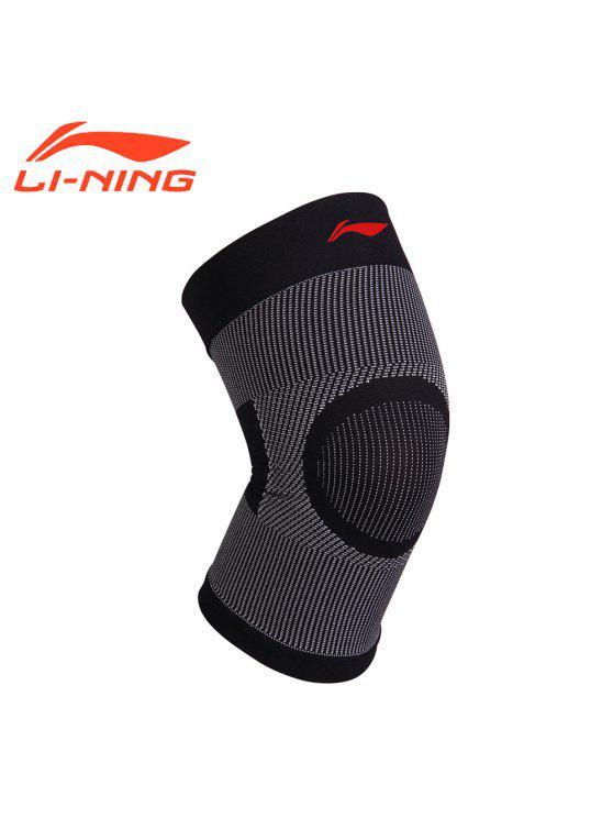 Li-Ning Unisex Knee Pads Professional Support 78% Nylon 22% Spandex Comfort  Super Light Kneepad ADEM002-1