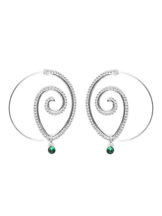 buy Fashion Hoop Earrings Set Party Jewerly Set Jewerly Gift Big Hoop Earrings Women Girls Wedding Party Jewelery - #005