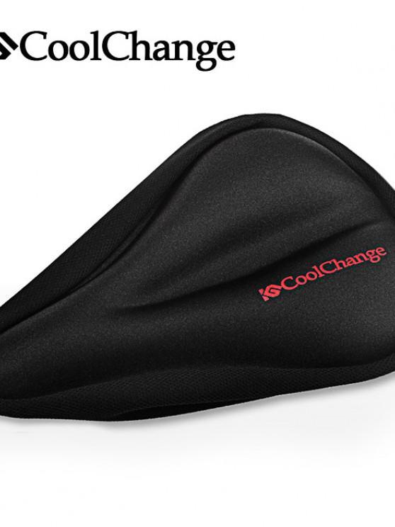 Coolchange KGZD1001 / KGZD1002 / KGZD1003 Coussin de Silicone à Vélo Confortable 3D - Noir KGZD1001
