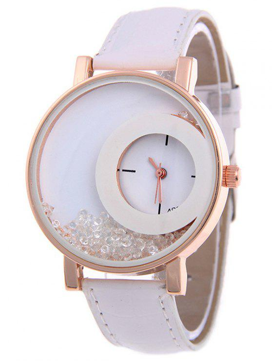 La deriva del reloj de arena - Blanco