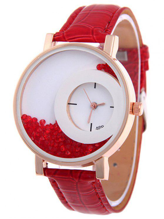 La deriva del reloj de arena - Rojo