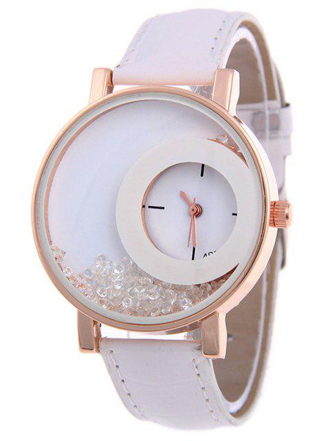 shop Drift Sand Watch - WHITE  Mobile
