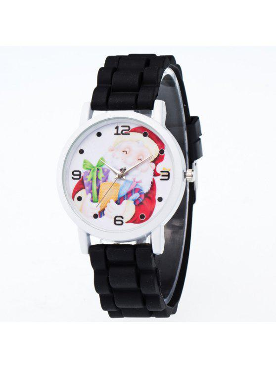 hot santa christmas gift quartz watch black - Watch Black Christmas
