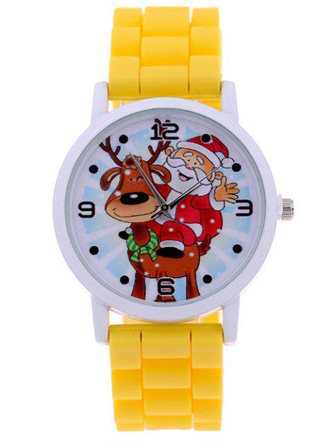 shop Smile Santa Christmas Elk Quartz Watch -   Mobile