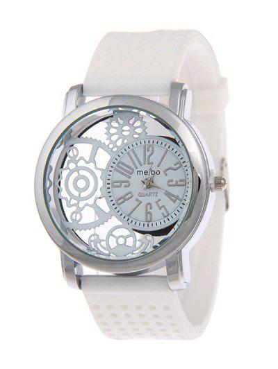 Image of Analog Silicone Roman Numerals Quartz Watch
