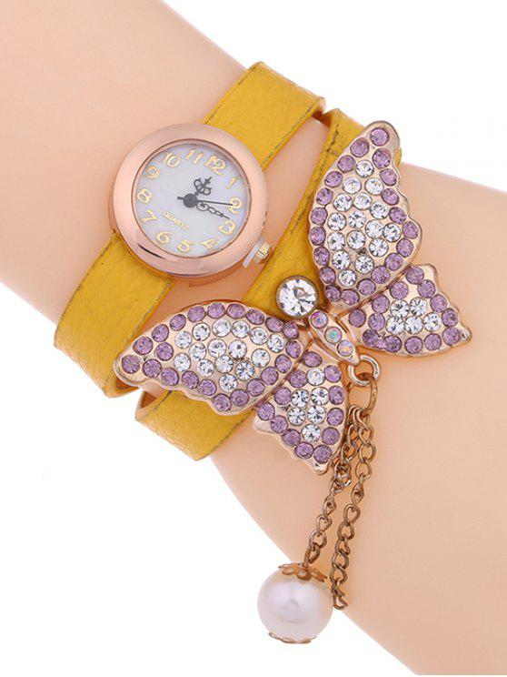 hot Layered Butterfly Watch - EARTHY