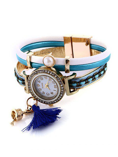 lady Faux Pearl Fringe Watch -   Mobile