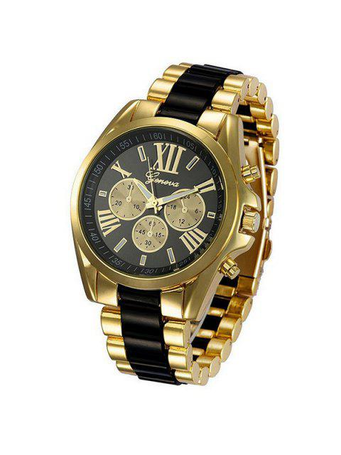 latest Roman Numerals Steel Watch -   Mobile