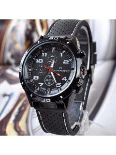Digital Analog Sport Watch - White