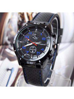 Digital Analog Sport Watch - Blue