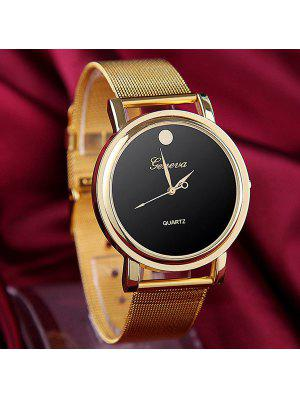 Alloy Band Quartz Watch