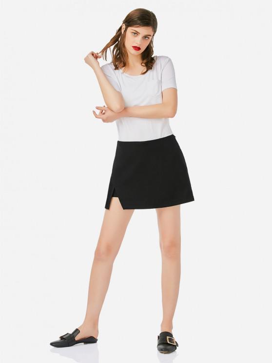hot ZAN.STYLE Mini Shorts Pantskirt - BLACK L