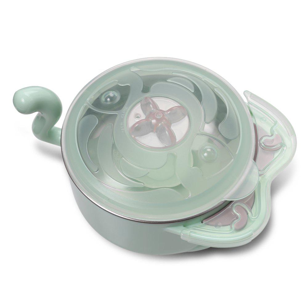 babycare Eco friendly PP Baby Feeding bowl with Fork Spoon for Toddler 210875802