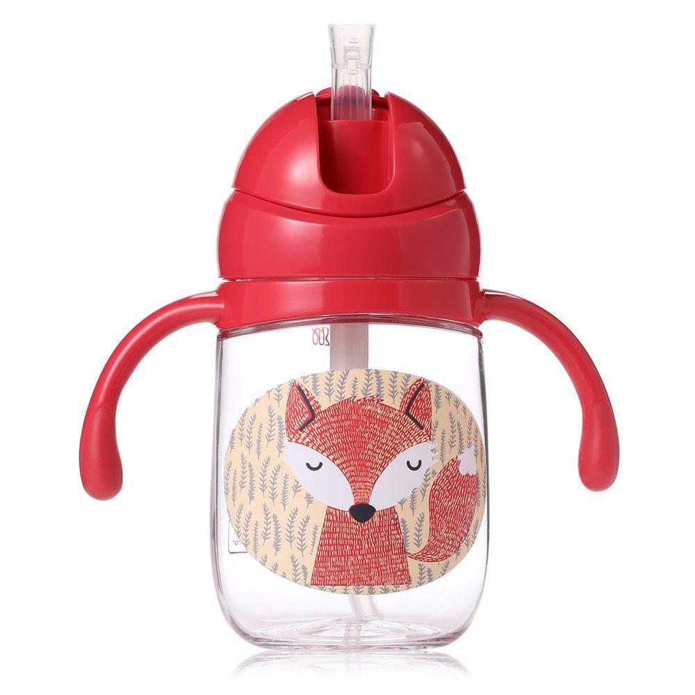 babycare 260ml Baby Straw Bottle Kid Feeding Cup 211061002