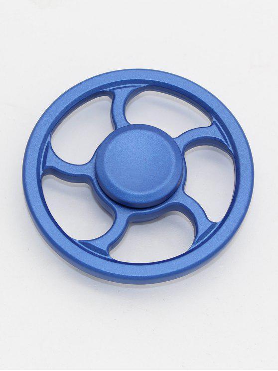 عجلة الإصبع الغزل الأعلى إصبع الدوران التركيز لعبة الإجهاد المخلص - أزرق