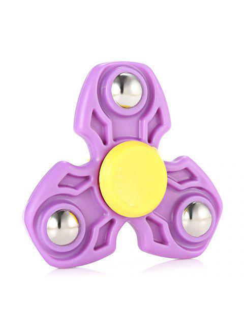 ABS прочные спиннеры-вертушки гироскоп снимающий стресс игрушка для снятия напряжения для офисного работника - Фиолетовый  Mobile