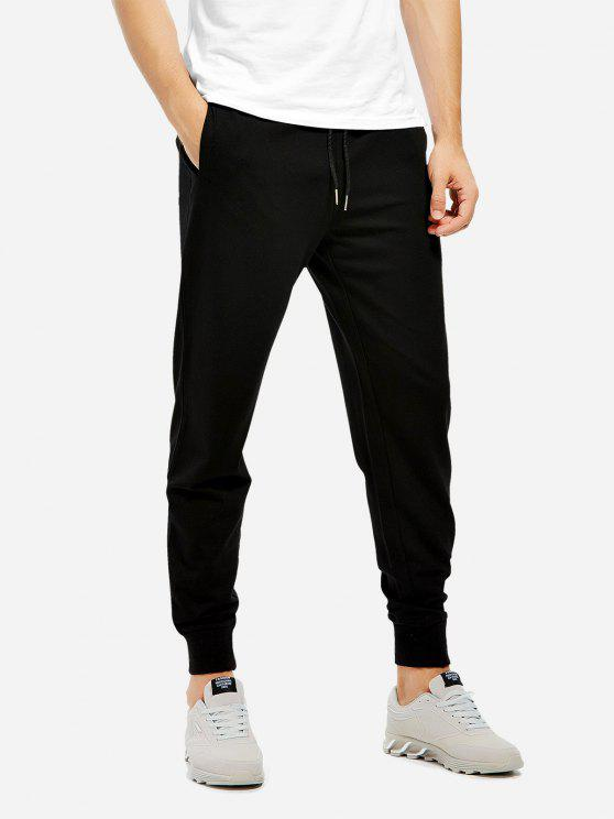 trendy Sweatpants - BLACK S