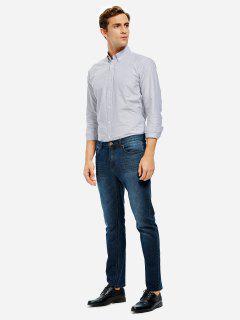 Oxford Camisa De Vestir  - Gris M