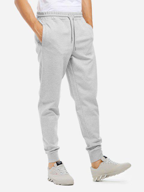 Jogginghose - Meliert Grau XL Mobile