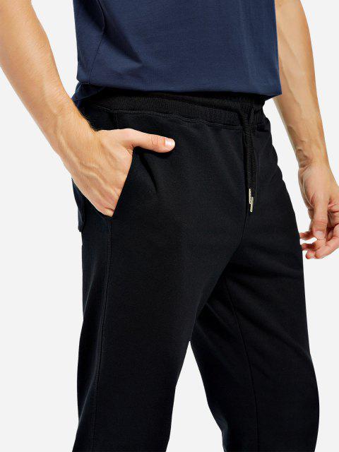 Cotton Sweatpants - 黑色 XL Mobile
