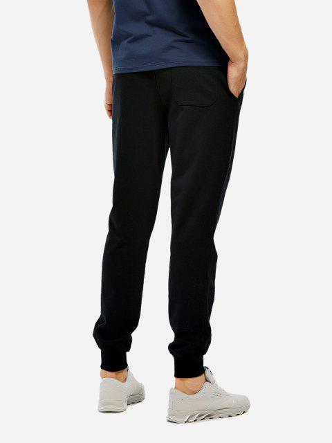 lady Cotton Sweatpants - BLACK L Mobile