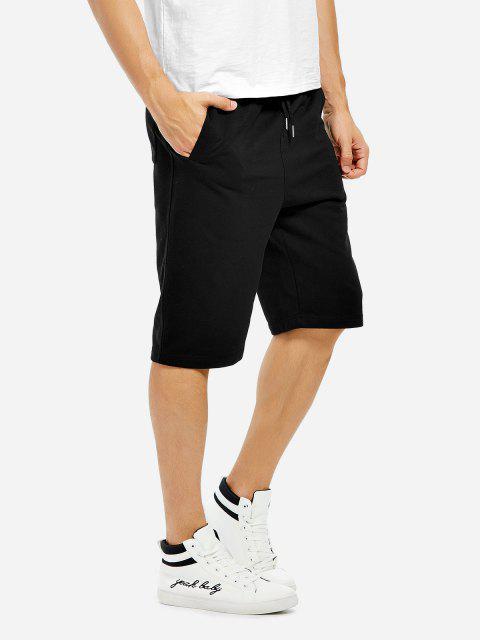 Pantalones Cortos - Negro M Mobile
