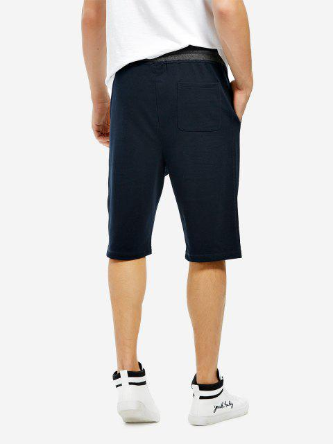 ladies Sweatpants Shorts - BLUE S Mobile