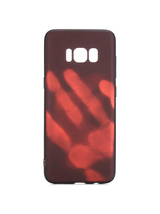 the latest 4789f 67952 Luanke Thermal Induction Soft Phone Back Case Protector for Samsung Galaxy  S8