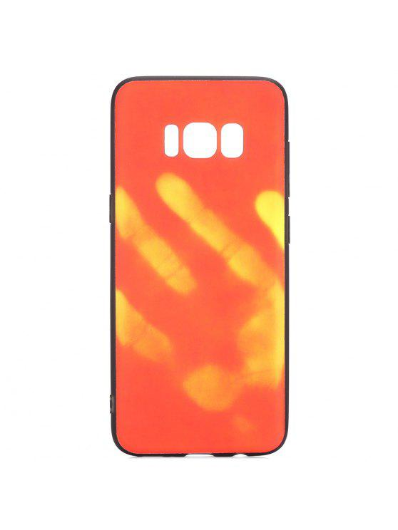 new concept 79e52 fb4d5 Luanke Thermal Induction Soft Phone Back Case Protector for Samsung Galaxy  S8 Plus