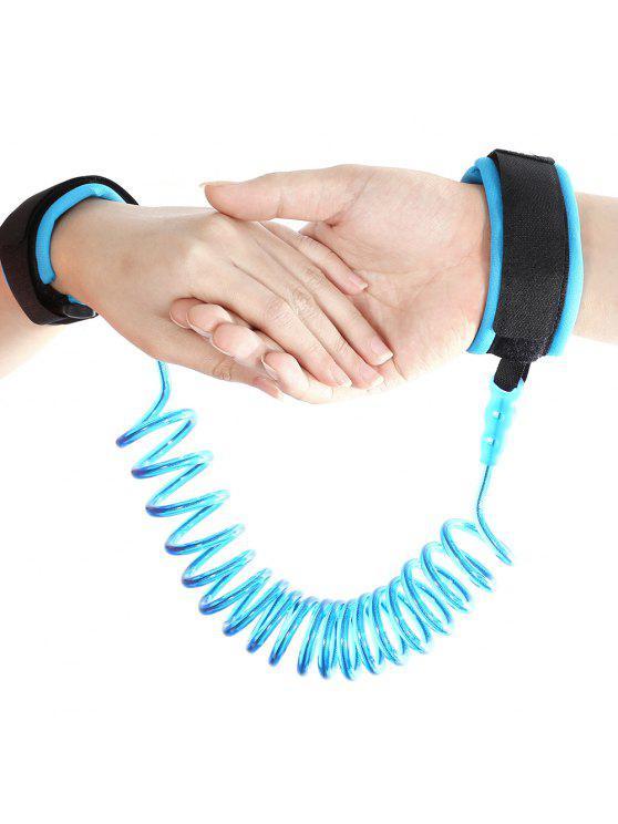 بوير الطفل الطفل لمكافحة خسر المعصم رابط سلامة تسخير حزام حبل المقود المشي اليد حزام - أزرق