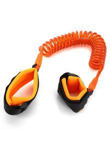 بوير الطفل الطفل لمكافحة خسر المعصم رابط سلامة تسخير حزام حبل المقود المشي اليد حزام - البرتقالي