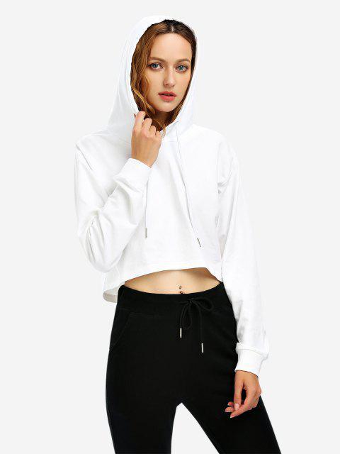 Sudadera Con Capucha para Mujer - Blanco M Mobile