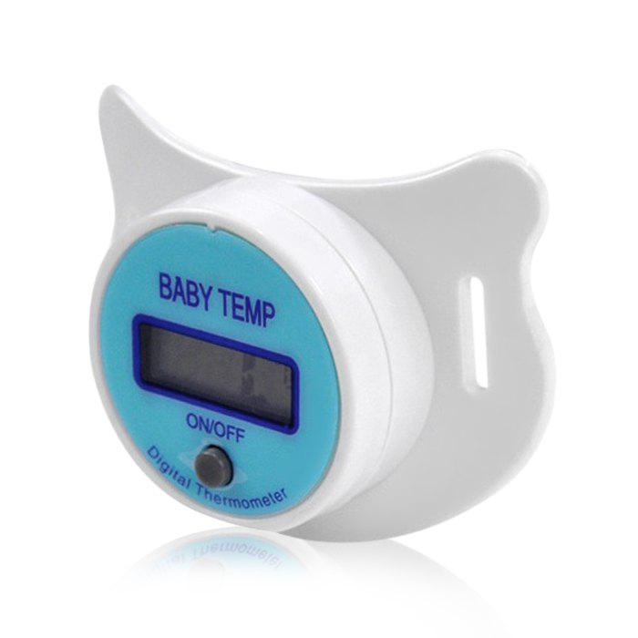 Digital Pacifier Thermometer with Sound Alarm for Baby Children 215745401