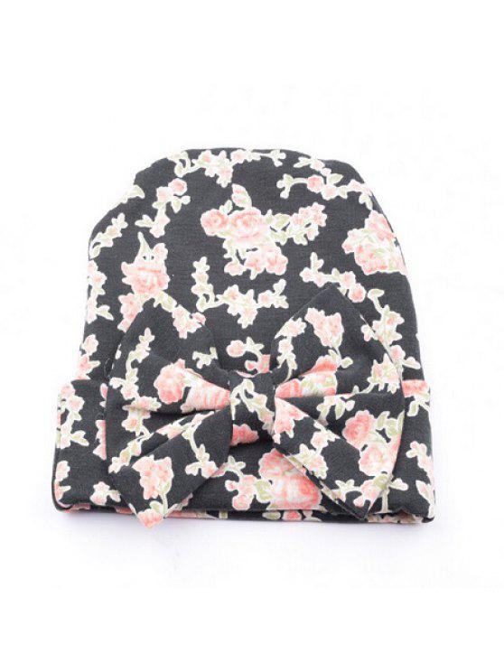 2019 Bow Cotton Infant Baby Soft Cute Kid Hat Cap For Newborn In ... d9aad42f1