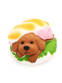 لطيف همبرغر الكلب بو رغوة اسفنجي لعبة مع رائحة مضحك الإجهاد المخلص الاسترخاء هدية ديكور
