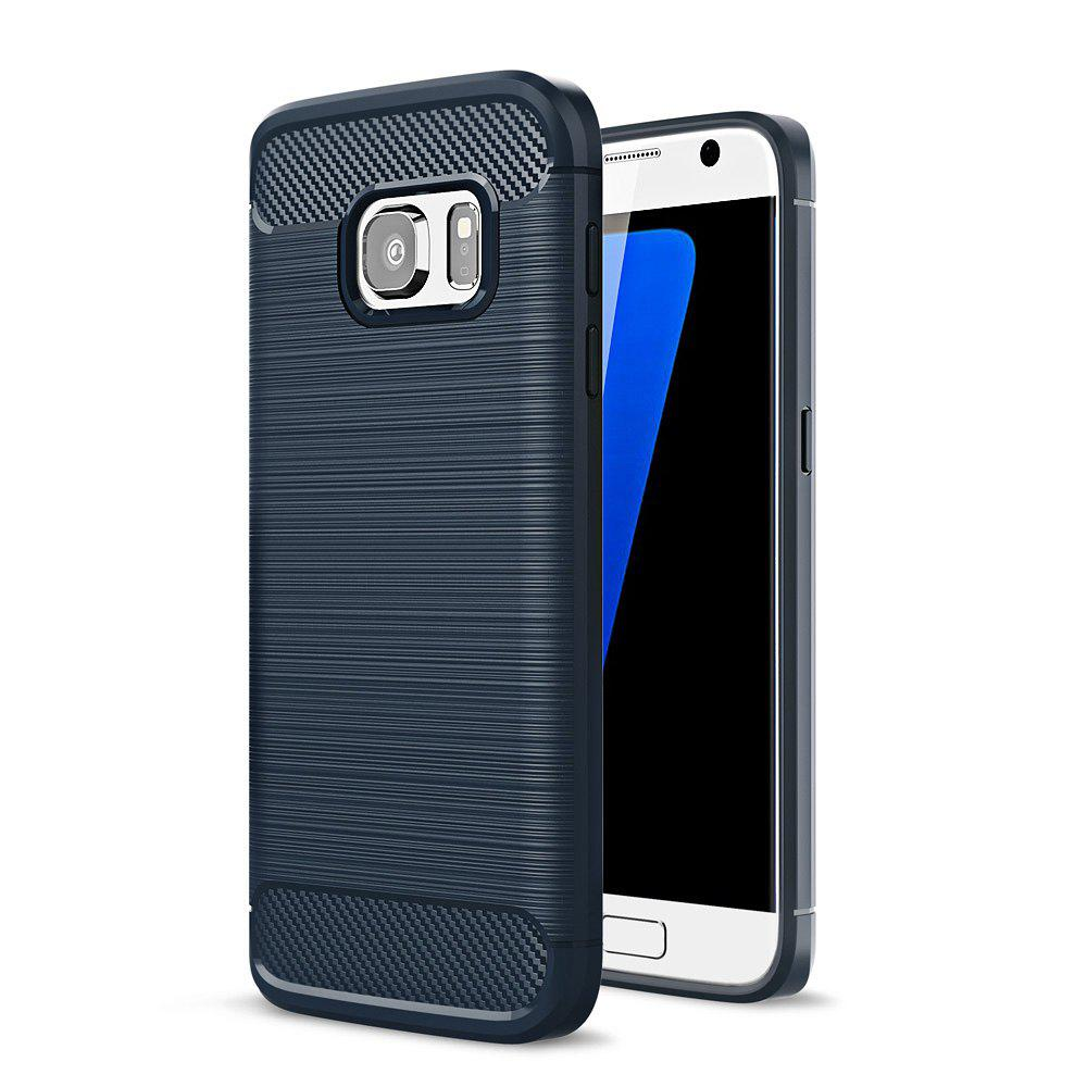 ASLING Carbon Fiber TPU Brushed Finish Case for Samsung Galaxy S7 221092902