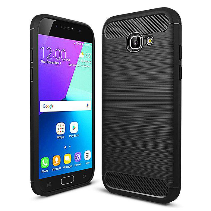 ASLING Carbon Fiber TPU Brushed Finish Case for Samsung Galaxy A5 ( 2017 ) 221094301