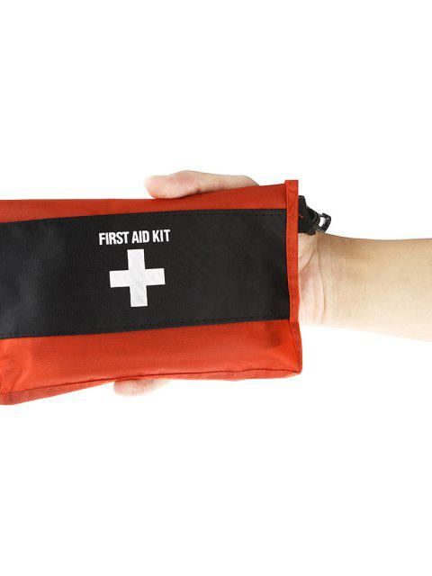 trendy 2PCS 12 in 1 Emergency First Aid Kit Medical Bag for Outdoor Survival Adventure Travel Home Use - RED  Mobile