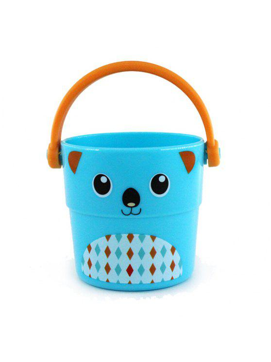 2018 creative cartoon image sand pail water bucket smart beach toy