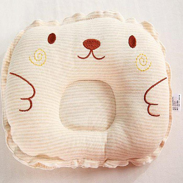 Color Cotton Embroider Infant Baby Pillow for Head Shape 222757801