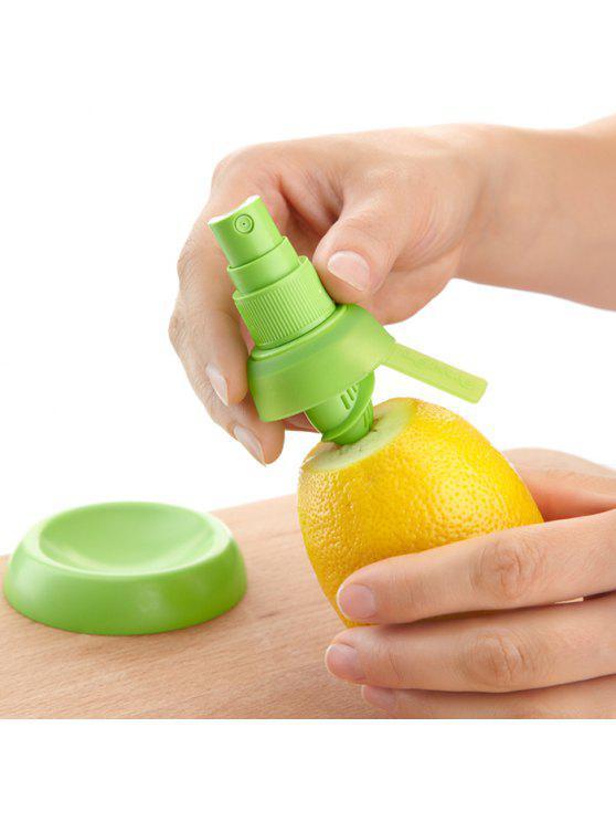 2PCS Multi-uso Spruzzatore di Agrumi Spremitoio Manuale di Spremuta di Frutta Limone Strumenti di Rame - Verde