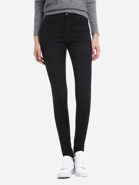 Super Skinny Jeans - Negro XL