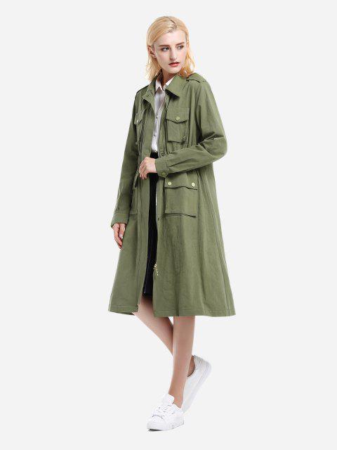 ZAN.STYLE Weibliche Ärmellose Handbag - Armeegrün S Mobile