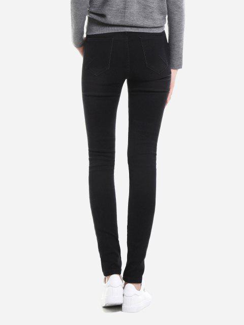 Super Skinny Jeans - Negro XL Mobile