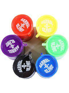 1PC Creative Barrel Pattern Odourless Gluedots Trick Toy