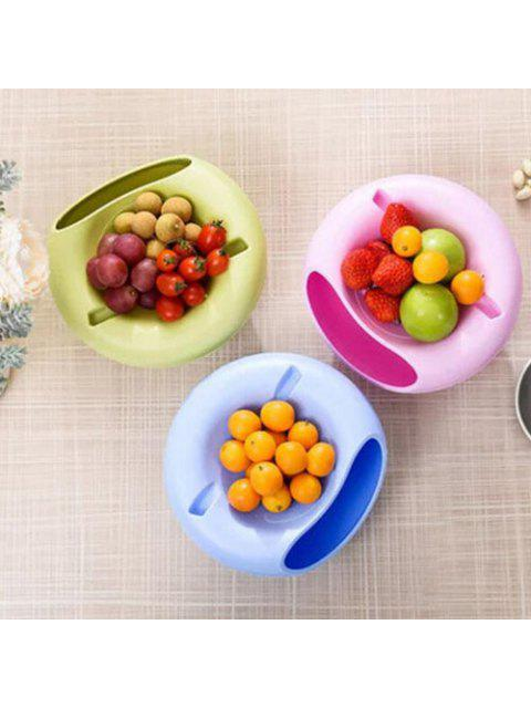 outfits Bilayer Snacks Melon Seeds Convenient Storage Box - GREEN  Mobile