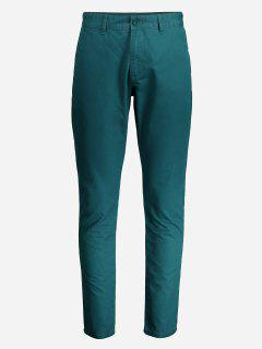 ZANSTYLE Men Slim Pants - Green 32