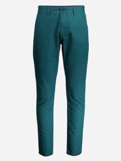 ZANSTYLE Pantalon Maigre  Pour Femme - Vert 35