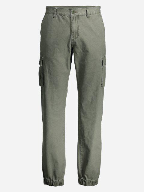 ZANSTYLE Pantalon Maigre Cargo Pour Femme - Vert Armée 32 Mobile
