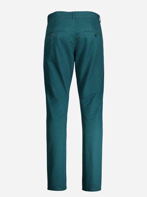 ZANSTYLE Pantalon Maigre  Pour Femme - Vert 35 Mobile